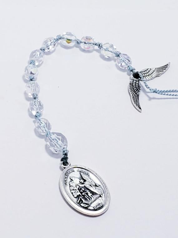 Blue Guardian Angel Prayer Chaplet