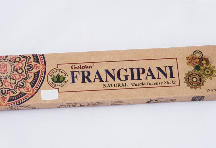 Goloka Frangipani Natural Incense 15 gram