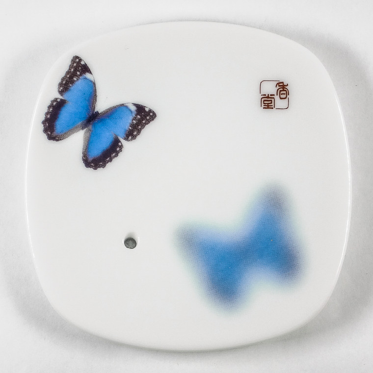 Yume-No-Yume (The Dream of Dreams) - Ceramic Plate - Butterfly