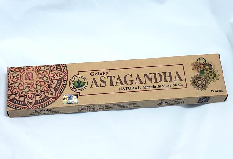 Goloka Astagandha Natural Incense 15 grams