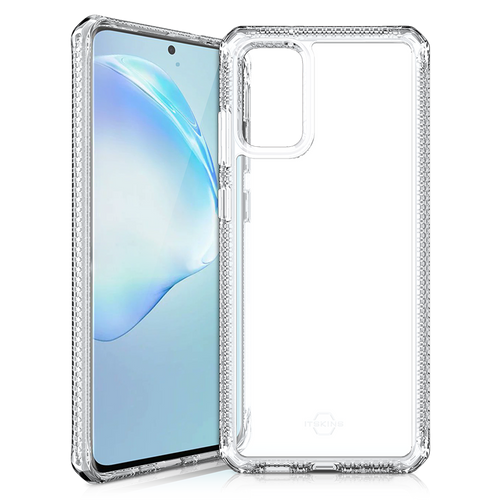 Itskins - Hybrid Clear Case for Samsung Galaxy S20 Plus - Transparent