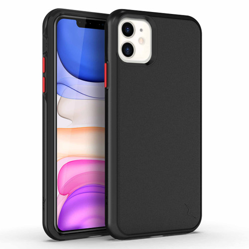 ZIZO DIVISION Series iPhone 11 Case - Military-grade ProtectION with Heavy-duty Shock AbsorbtION -Black DVS-IPH61-BLK