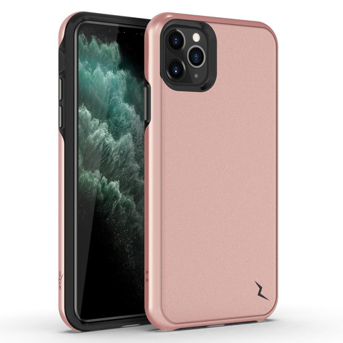 ZIZO DIVISION Series iPhone 11 Pro Max Case - Military-grade ProtectION Heavy-duty Shock AbsorbtION - Designed for 2019 Apple iPhone 11 Pro Max - Rose Gold DVS-IPH65-RGD