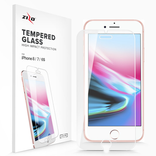 ZIZO Glass Compatible with iPhone 8 Tempered Glass Screen Protector Anti Scratch 9H Hardness iPhone 7 Tempered Glass Screen Protector iPhone 6s Tempered Glass Screen Protector LSHD-IPH7