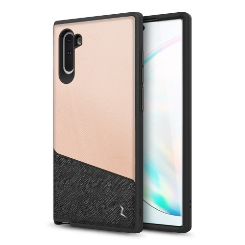 ZIZO DIVISION Samsung Galaxy Note 10 Case [Military-grade ProtectION] Heavy-duty Shock AbsorbtION | Designed for 2019 Samsung Galaxy Note 10 (Saffiano Blush) DVS-SAMGN10-SFBL