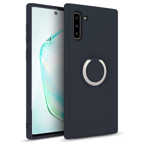 ZIZO REVOLVE Series 2019 Samsung Galaxy Note 10 Case | Built-in Ring Holder  Kickstand, Ultra Thin Design Magnetic Mount Compatible (Charcoal Blue) REV-SAMGN10-CHBL