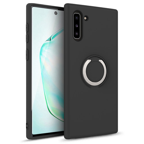 ZIZO REVOLVE Series 2019 Samsung Galaxy Note 10 Case | Built-in Ring Holder  Kickstand, Ultra Thin Design Magnetic Mount Compatible (Magnetic Black) REV-SAMGN10-MGBK