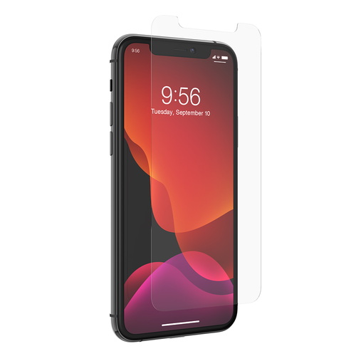 Zagg - Invisibleshield Glass Elite Visionguard Plus Glass Screen Protector for Apple iPhone 11 Pro - Clear