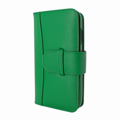 Piel Frama 842 Green WalletMagnum Leather Case for Apple iPhone 11
