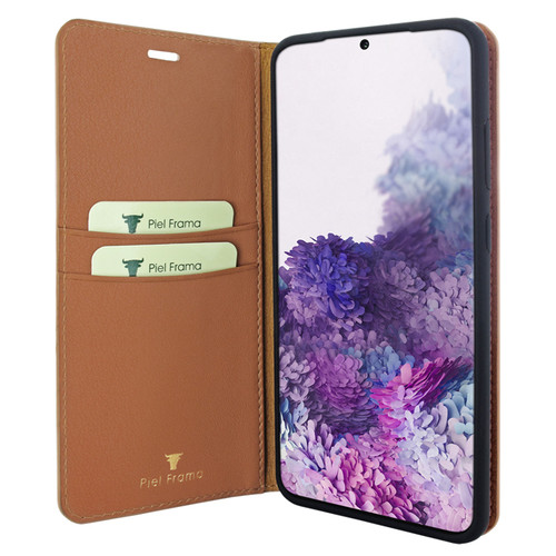 Piel Frama 845 Tan FramaSlimCards Leather Case for Samsung Galaxy S20