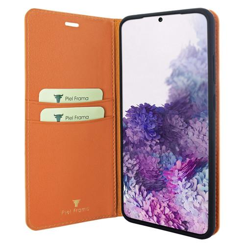 Piel Frama 846 Orange FramaSlimCards Leather Case for Samsung Galaxy S20 Plus