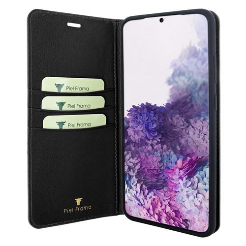 Piel Frama 847 Black FramaSlimCards Leather Case for Samsung Galaxy S20 Ultra
