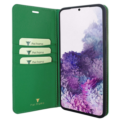 Piel Frama 847 Green FramaSlimCards Leather Case for Samsung Galaxy S20 Ultra