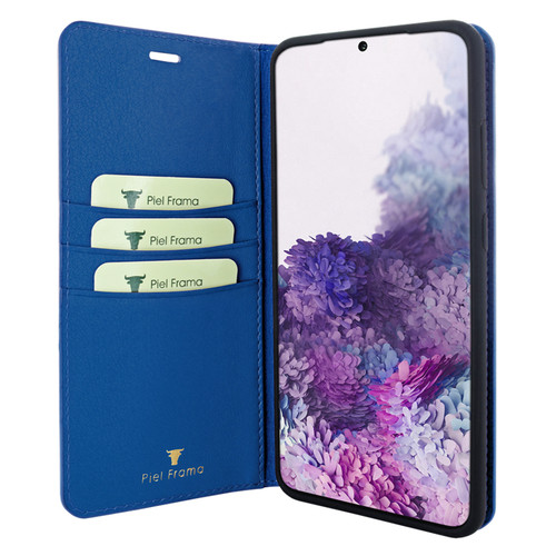Piel Frama 847 Blue FramaSlimCards Leather Case for Samsung Galaxy S20 Ultra