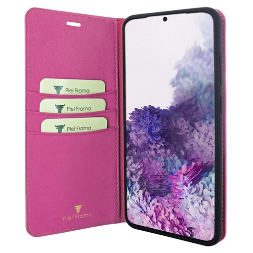 Piel Frama 847 Pink FramaSlimCards Leather Case for Samsung Galaxy S20 Ultra