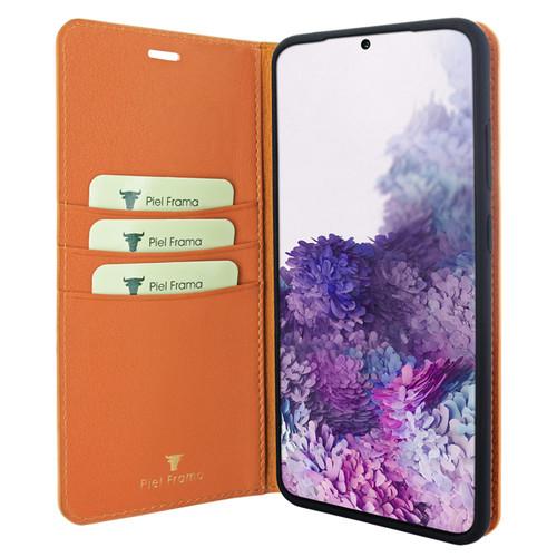 Piel Frama 847 Orange FramaSlimCards Leather Case for Samsung Galaxy S20 Ultra