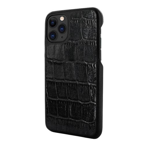 Piel Frama 835 Black Crocodile LuxInlay Leather Case for Apple iPhone 11 Pro Max