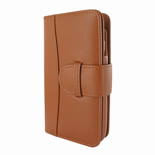Piel Frama 717 Tan WalletMagnum Leather Case for Apple iPhone 6 Plus / 6S Plus