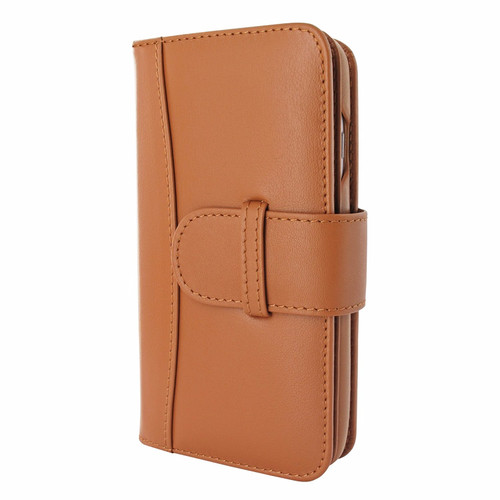 Piel Frama 764 Tan WalletMagnum Leather Case for Apple iPhone 7 / 8
