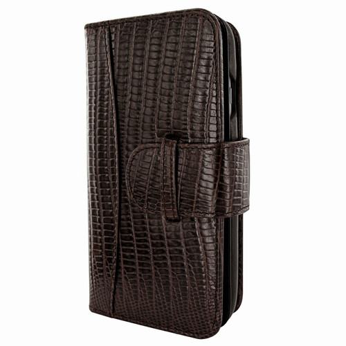 Piel Frama 764 Brown Lizard WalletMagnum Leather Case for Apple iPhone 7 / 8