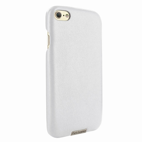 Piel Frama 763 White FramaSlimGrip Leather Case for Apple iPhone 7 / 8
