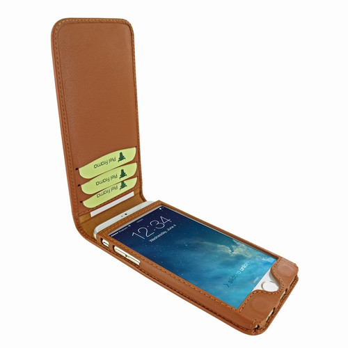 Piel Frama 761 Tan Classic Magnetic Leather Case for Apple iPhone 7 / 8