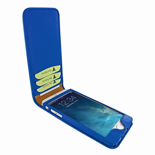 Piel Frama 761 Blue Classic Magnetic Leather Case for Apple iPhone 7 / 8