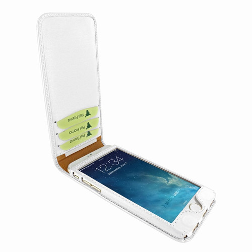 Piel Frama 761 White Classic Magnetic Leather Case for Apple iPhone 7 / 8