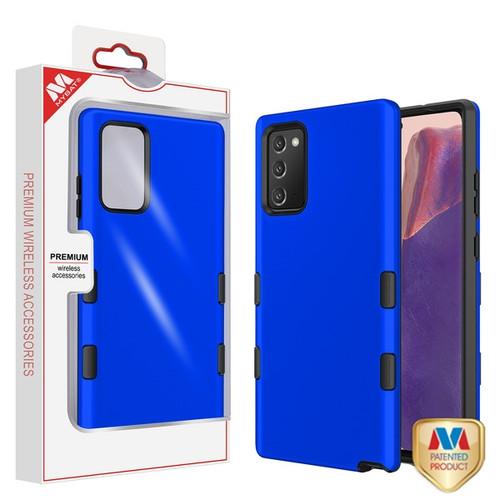 MyBat TUFF Subs Hybrid Case for Samsung Galaxy Note 20 - Titanium Dark Blue / Black