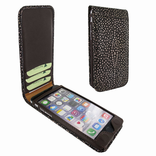 Piel Frama 766 Brown Stingray Classic Magnetic Leather Case for Apple iPhone 7 Plus / 8 Plus