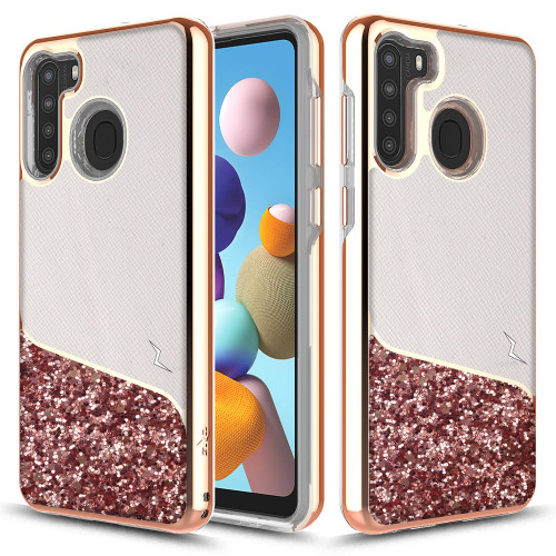ZIZO DIVISION Series for Samsung Galaxy A21 Case - Sleek Modern Protection - WANDERLUST DVS-SAMGA21-WDL