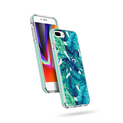 ZIZO DIVINE Series for iPhone 8 Plus / iPhone 7 Plus Case - Thin Protective Cover - Tropical DIN-IPH7PLUS-TPL