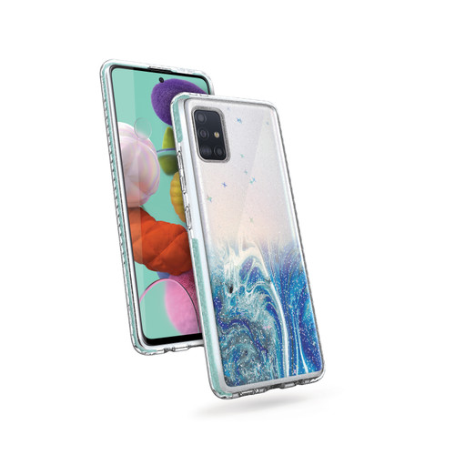 ZIZO DIVINE Series for Galaxy A51 5G Case - Thin Protective Cover - Arctic DIN-SAMGA51-ARC