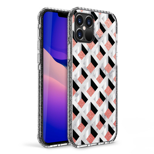 ZIZO DIVINE Series for iPhone 12 / iPhone 12 Pro Case - Thin Protective Cover - Geo DIN-IPH1261-GEO