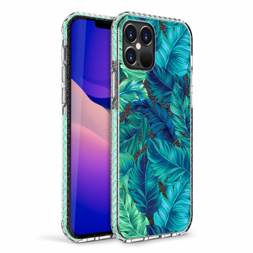 ZIZO DIVINE Series for iPhone 12 / iPhone 12 Pro Case - Thin Protective Cover - Tropical DIN-IPH1261-TPL