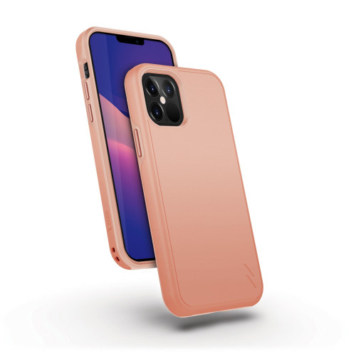 ZIZO DIVISION Series for iPhone 12 / iPhone 12 Pro Case - Sleek Modern Protection - Rose Gold DVS-IPH1261-RGD