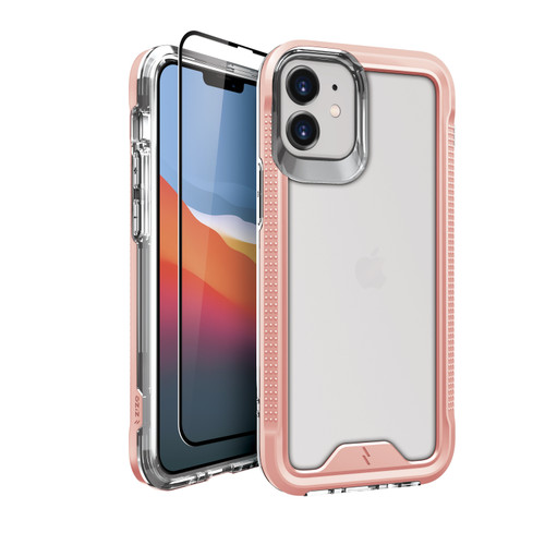 ZIZO ION Series for iPhone 12 Mini Case - Military Grade Drop Tested with Tempered Glass Screen Protector - Rose Gold IONC-IPH1254-RGDCL