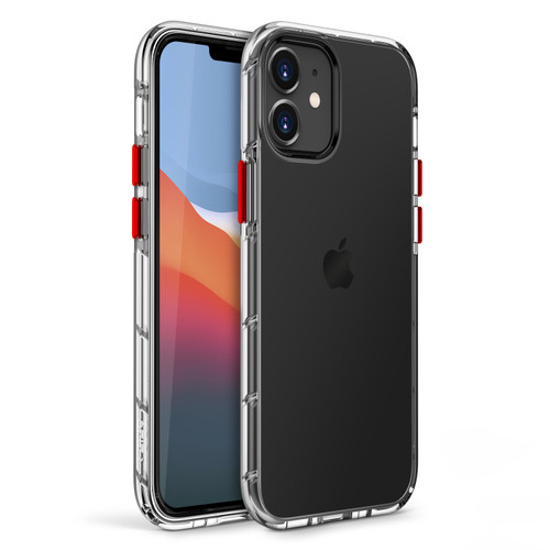 ZIZO SURGE Series for iPhone 12 Mini Case - Sleek Clear Case Customizable Buttons - Clear SUR-IPH1254-CL