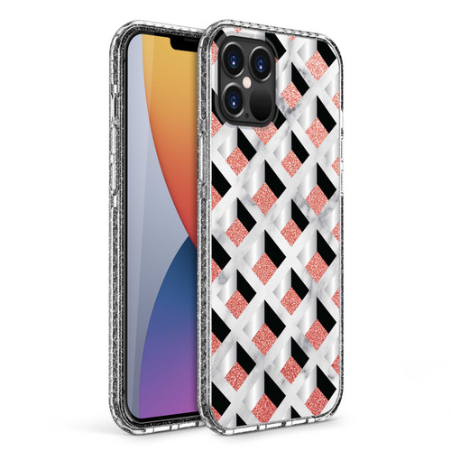 ZIZO DIVINE Series for iPhone 12 Pro Max Case - Thin Protective Cover - Geo DIN-IPH1267-GEO