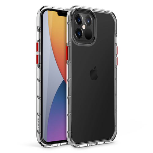 ZIZO SURGE Series for iPhone 12 Pro Max Case - Sleek Clear Case Customizable Buttons - Clear SUR-IPH1267-CL