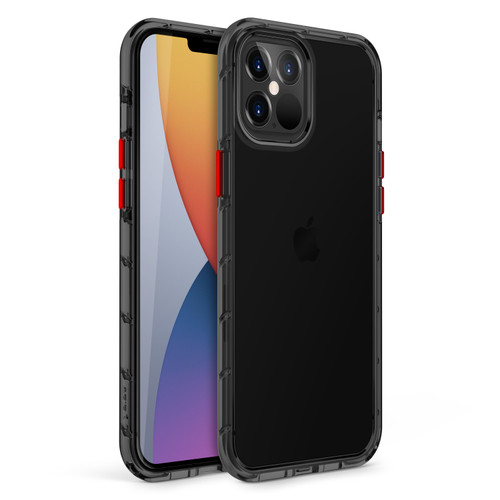 ZIZO SURGE Series for iPhone 12 Pro Max Case - Sleek Clear Case Customizable Buttons - Smoke SUR-IPH1267-SM