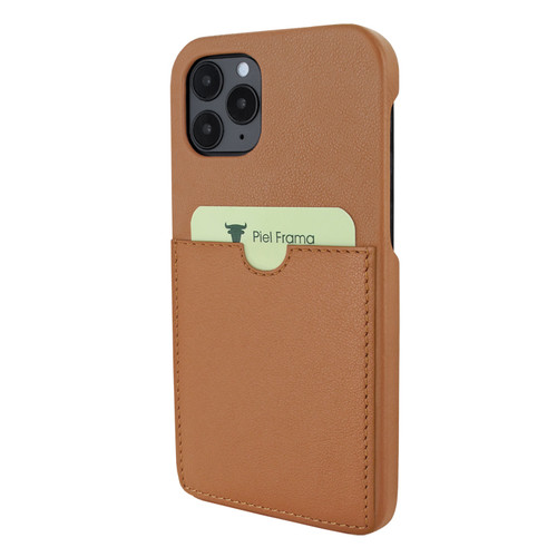 Piel Frama 851 Tan FramaSlimGrip Leather Case for Apple iPhone 12 / iPhone 12 Pro