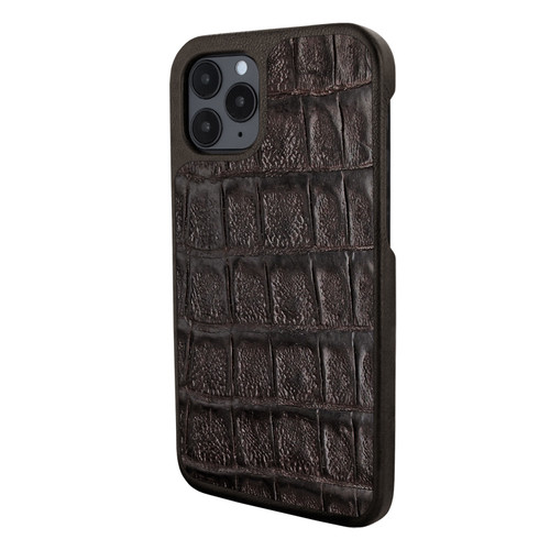Piel Frama 851 Brown Wild Crocodile LuxInlay Leather Case for Apple iPhone 12 / iPhone 12