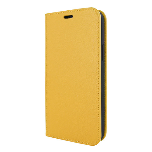 Piel Frama 855 Yellow FramaSlimCards Leather Case for Apple iPhone 12 / iPhone 12 Pro