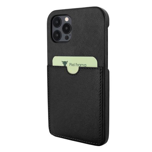 Piel Frama 856 Black FramaSlimGrip Leather Case for Apple iPhone 12 Pro Max
