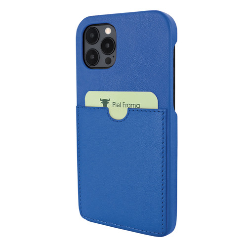 Piel Frama 856 Blue FramaSlimGrip Leather Case for Apple iPhone 12 Pro Max