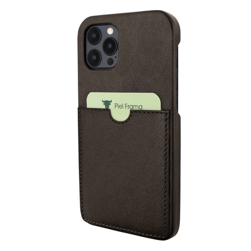 Piel Frama 856 Brown FramaSlimGrip Leather Case for Apple iPhone 12 Pro Max