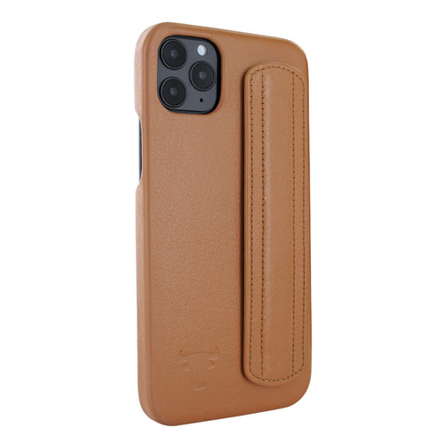 Piel Frama 857 Tan FramaSafe Leather Case for Apple iPhone 12 Pro Max