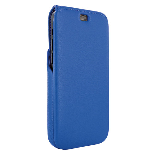 Piel Frama 858 Blue iMagnum Leather Case for Apple iPhone 12 Pro Max