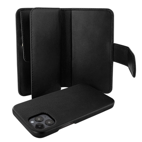 Piel Frama 859 Black WalletMagnum Leather Case for Apple iPhone 12 Pro Max